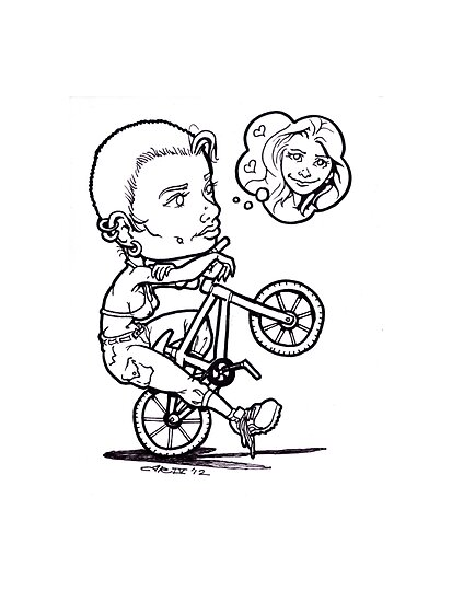 BMX Love by Joe  Rough