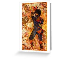 Freedom Fighter Greeting Card