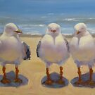 "Three's a crowd"" by Tash  Luedi Art"