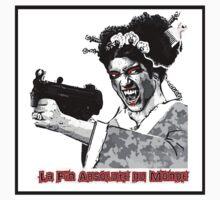 LA FIN ABSOLUTE: GEISHA & GUN LOGO 2 by lafinabsolute