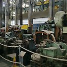 MACHINERY GRAVE YARD CHATHAM DOCKS MUSEUM by Shoshonan
