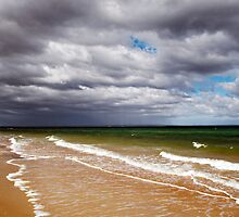 Distant storm by Stephanie Johnson