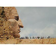 Crazy Horse Memorial Photographic Print