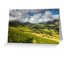 The Newlands Valley Greeting Card
