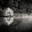 Electric Boathouse in Mono by Brian Kerr