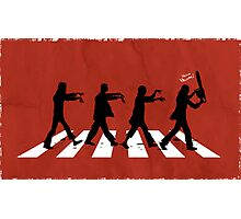 Zombies on Abbey Road (Version 02) Photographic Print