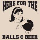 Funny Women's Bowling T-Shirt by SportsT-Shirts
