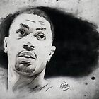Derrick Rose by Philip Thompson