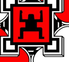 GLOBE><TRIBE Sticker