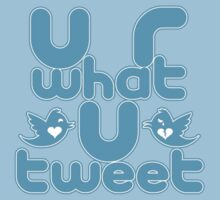 Your are what you tweet by Robert Cross