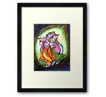 Krishna Leela Framed Print