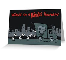 skull truck Greeting Card