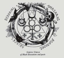 Circle of Black Evocations and Demonic pacts by djhypnotixx