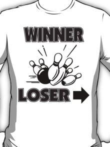 Funny Winner Bowling T-Shirt T-Shirt