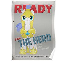 Ready to Join the Herd Poster
