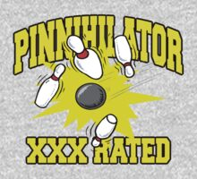 XXX Rated Bowling T-Shirt by SportsT-Shirts