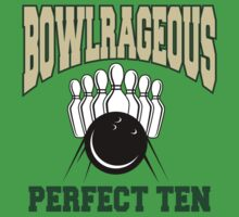 Funny Perfect Ten Bowler Bowling T-Shirt by SportsT-Shirts
