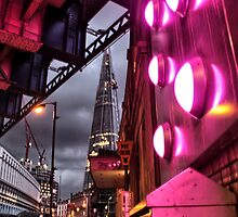The Shard in Pink by Dominika Martincova