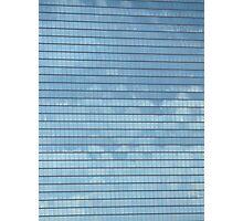 Twin Building Reflex (Osaka Japan) Photographic Print