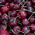 Fresh Cherries by Sherry Hallemeier