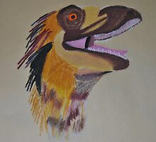 deinonychus by heartoftheocean