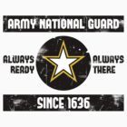 National Guard Baseball Tee by Sarah Kittell