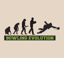 Evolution of Bowling T-Shirt by SportsT-Shirts