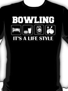 Sleep Eat Drink Beer Bowl Bowling T-Shirt T-Shirt