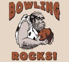 Bowling Rocks Bowling T-Shirt by SportsT-Shirts