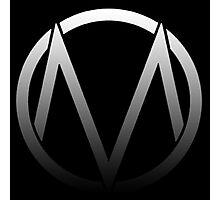 The Maine - Band  Logo Fade Photographic Print