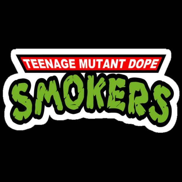 Teenage Mutant Dope Smokers by gerrorism