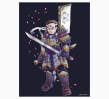 Greatest American Samurai- Sticker Version by pagebranson