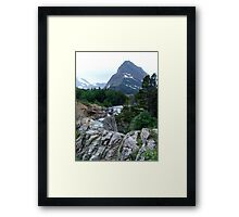 THE RUN FROM SWIFTCURRENT LAKE Framed Print