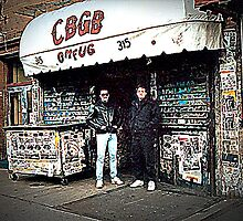 New York City CBGB Club by Timothy Lowry