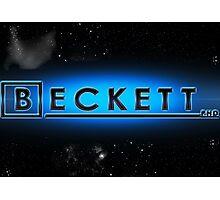 Beckett P.H.D Photographic Print