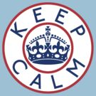 KEEP CALM ROUNDEL xiii by GraceMostrens