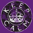 KEEP CALM ROUNDEL xviii by GraceMostrens