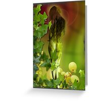 Ripened on the vine Greeting Card