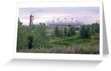 London 2012 Olympic Park by Tom Clancy