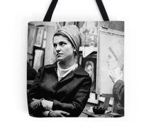 Greenwich Village Mona Lisa Tote Bag