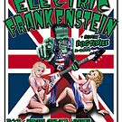 Electric Frankenstein 1999 UK Tour Poster by firehazzard