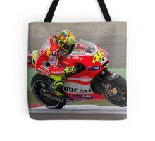 Valentino Rossi in Assen 2011 Tote Bag