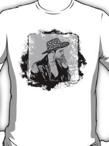 Cowboy Smoking Hat - Cool Grunge Vintage T-Shirt T-Shirt