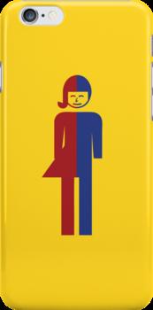 Ladyboy ~ Tomboy Toilet Restroom Sign by iloveisaan