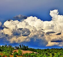 Clouds over Delafield by EBArt