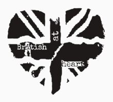 Brit at Heart (Black) by sherlockwho