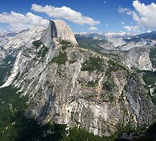 Half Dome and Yosemite Valley in Yosemite National Park by RicardMN
