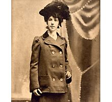 Sadie Mae Egbert Engagement Photo 1902 Photographic Print