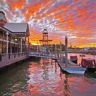 Breakfast Creek Wharf Brisbane Australia by PhotoJoJo