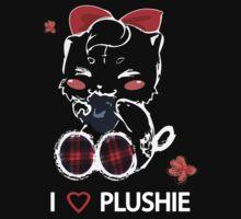 I LOVE PLUSHIE by TakyGraphics